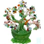 Дерево счастья на слитке 28 см