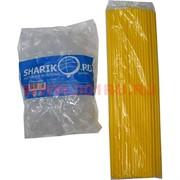 Палочки с креплением (розеткой) желтые 100 шт для шариков