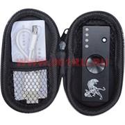 Спиннер-зажигалка USB с 3 режимами подсветки (цвет черный)