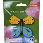 Летающая бабочка игрушка (flying butterfly) 48 шт/уп