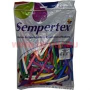 Воздушный шар латексный Sempertex Ассорти 100 шт для рукоделия