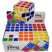 Кубик Головоломка 6,8 см цветной 6 шт/уп