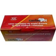 Уголь для кальяна CARBOPOL 50 мм 60 шт в таблетках