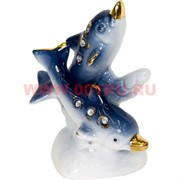 Дельфины из фарфора (KL-1029) со стразами 240 шт/кор