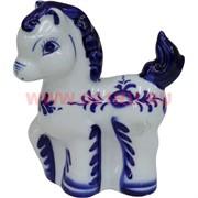 Лошадь (1122) из фарфора 12,5 см (4 размер) 120 шт/кор