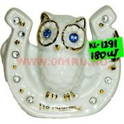 Сова из фарфора (KL-1291) в подкове 180 шт/кор