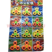 Игрушка Спиннер пластиковый 4 вида цена за 12 шт