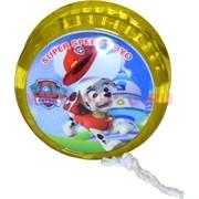 Йо-Йо светящиеся «Щенячий Патруль» цена за 24 шт