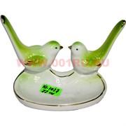 Пепельница «две птички» (KL-1027) из фарфора 72 шт/кор