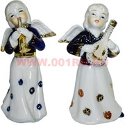 Ангелочки «музыканты» фарфоровые (KL-283) 15 см