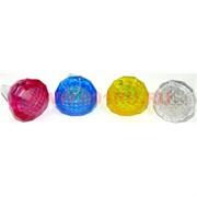 Кольцо детское светящееся, цвет ассортимент цена за 24 шт