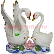 Лебеди из фарфора 22 см (KL-248) 16 шт/кор