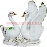 Лебеди из фарфора 17 см (KL-777) 24 шт/кор