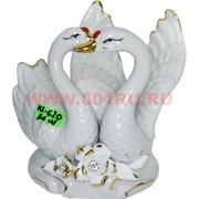Лебеди из фарфора 13 см (KL-620) 36 шт/кор