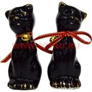Кошки с колькокольчиками (KL-555) из фарфора цена за пару