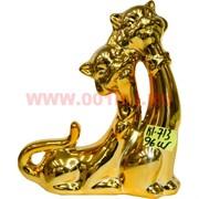 Котики золотые парочка (KL-713) 15 см высота 96 шт/кор