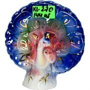 Павлин 8 см (KL-270) из цветного фарфора 144 шт/кор