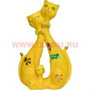 Кошачья семья (KL-1238) два цвета 20 см высота 48 шт/кор