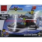 """Конструктор """"Полицейский катер"""" арт.130"""