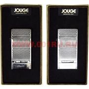 Зажигалка газовая Jouge «узоры» три цвета 2 режима (40-52)