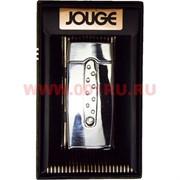 Зажигалка газовая Jouge со стразами и подсветкой (638) цвета в ассортименте