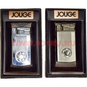 Зажигалка газовая Jouge со стразами и подсветкой (631) цвета в ассортименте
