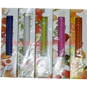 Свеча ароматизированная (LB764) чайная 3 шт/уп, 5 ароматов, цена за 72 уп