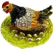 "Шкатулка ""Курица с золотыми яйцами"""