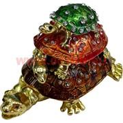 """Шкатулка """"Три черепахи"""""""
