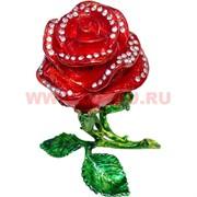 """Шкатулка """"Роза"""" большая 16 см"""