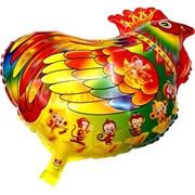 Петух шарик надувной 33х45 см (20 шт/уп)