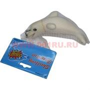 Игрушка резиновая подвеска «дельфин 12 см» пищащий