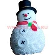 Игрушка мягкая резиновая Дед Мороз цена за 12 шт