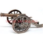 Зажигалка настольная «Пушка» 16 см длина