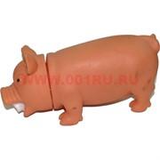 """Игрушка """"свинья"""" со звуком резиновая, 120 шт/кор"""