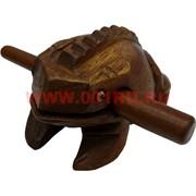 Жабка квакающая индонезийская из дерева 4 размер