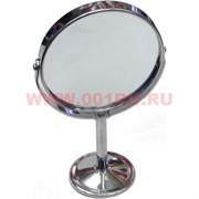 Зеркало круглое металлическое 90 мм диаметр