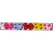 Резинка детская с клубничками, цена за 10 пар