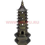 Пагода с подсветкой из металла 18 см (под бронзу)