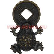 Жабка с монетой в кошелек (Китай) 2,6 см