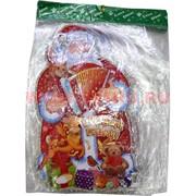 Картинка новогодняя (DM-14) Дед Мороз с гармонью цена за 10 шт