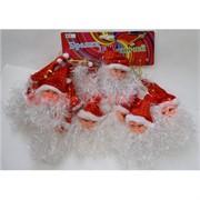 Подвеска новогодняя (DM-30) Дед Мороз большой цена за 50 шт