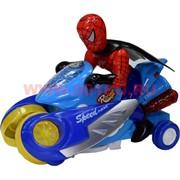 Спайдермен на мотоцикле  (игрушка музыкальная, ездит)