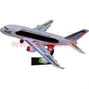 Игрушка музыкальная «Самолет A380» 42 см (ездит)