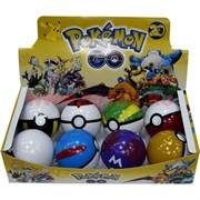 Игрушка в шарике Pokemon Go цена за 8 шт