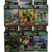 Конструктор Ниндзя Черепашки (Ninja Turtles) 12 шт/уп