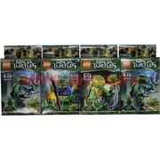 Конструктор Ниндзя Черепашки (Ninja Turtles) 12 шт/уп (6998)