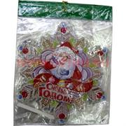 Картинка новогодняя (DM-24) снежинка цена за 10 шт