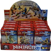 Конструктор Ninjaga (35901-06) Ниндзяго 12 шт/уп 6 моделей