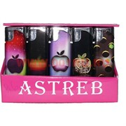 """Зажигалка """"Astreb"""" с яблоком, откидные, 50 шт/бл"""